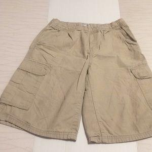 Place est. 1989 kids beige shorts size 14
